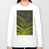 christmas tree Long Sleeve T-shirts featuring christmas tree by gzm_guvenc