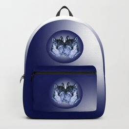 Season of the Wolf - Duet in Sapphire Backpack