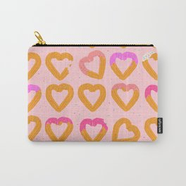 Churro Hearts Carry-All Pouch