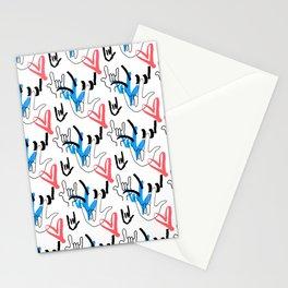 I Love You ILY Stationery Cards