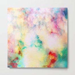 Fume Color Splash 03 Metal Print