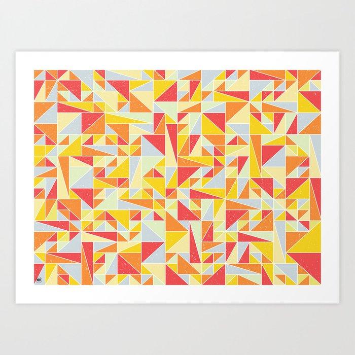 Shapes 008 Art Print