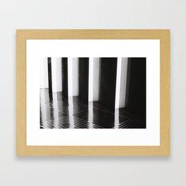 Rockefeller Center, B+W Framed Art Print