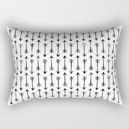 Black Arrow Rectangular Pillow