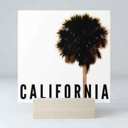 California Palm Tree Mini Art Print
