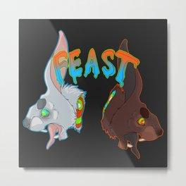 Feast Metal Print