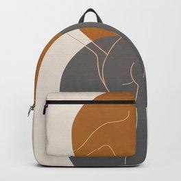 Line Female Figure 82 Backpack
