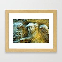 i've got my eye on you Framed Art Print