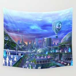 flowtopia Wall Tapestry