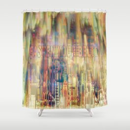 Fasten Your Belt / 29-08-16 Shower Curtain