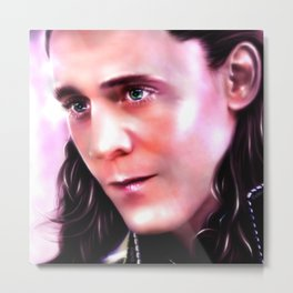 Loki - Burdened with Glorious Purpose XX Metal Print