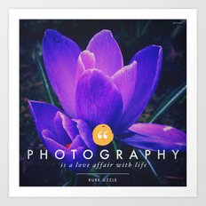 what is photography  Art Print