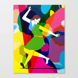 Tap Dancer Like No Other Canvas Print