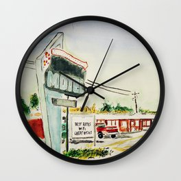 Motel Louisiana Wall Clock