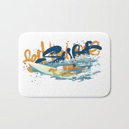 Surfer print Bath Mat