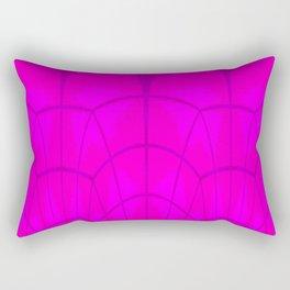 Glass dome on evening Rectangular Pillow