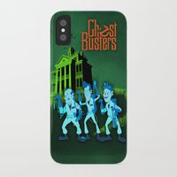 ghostbusters iPhone & iPod Cases featuring Hitchhiking Ghostbusters by Sam Carter AKA Cartarsauce