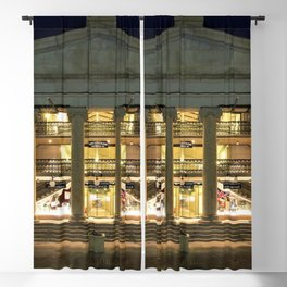Circa 1828 Providence Arcade - Oldest Mall in America - Providence, Rhode Island Blackout Curtain