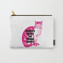 Women's March Cat Carry-All Pouch
