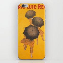 Vintage poster - Parapluie-Revel iPhone Skin