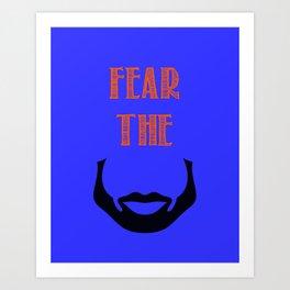 fear the beard - okc Art Print