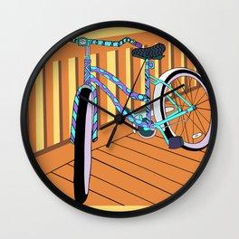 Beach-Cruisin' Wall Clock
