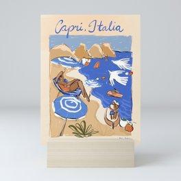 Capri, Italia Mini Art Print