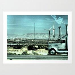 Keep Truckin' Art Print