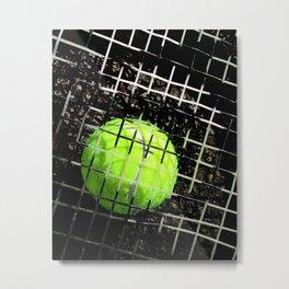 Tennis art print work 17 Metal Print