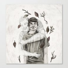 For Jamie  Canvas Print