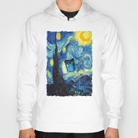 starry night Hoodies featuring STARRY by MiliarderBrown