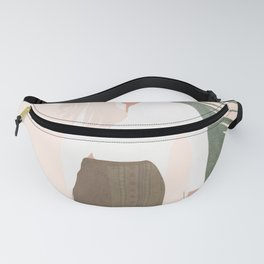 Holding a Palm Leaf Fanny Pack