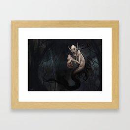 Wild Vampire Framed Art Print