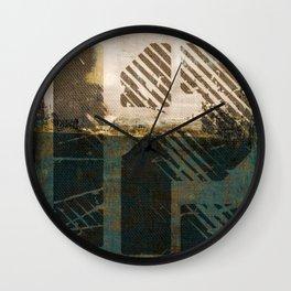 Fibonacci 1-2 Wall Clock