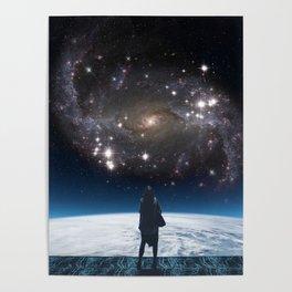 SKY GAZING I Poster