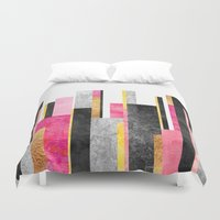 skyline Duvet Covers featuring Skyline by Elisabeth Fredriksson