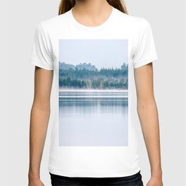Morning begins with mist T-shirt