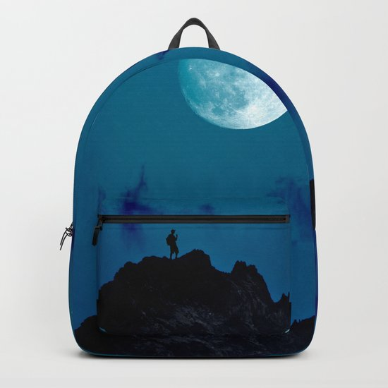 night on the mountain Backpack