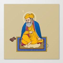 Sri Guru Nanak Dev Ji Canvas Print