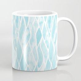 Sand Flow Pattern - Light Blue Coffee Mug