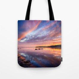 Sunset in French Village, Nova Scotia Tote Bag