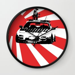 Pavement eater Wall Clock