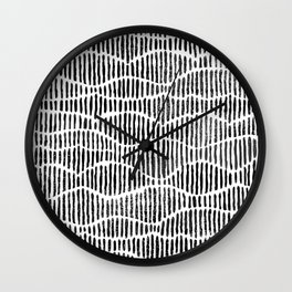 Lines and Curves Wall Clock
