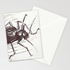 Black Beetle Stationery Cards
