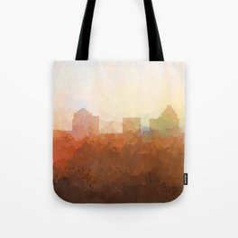 Greensboro, NC Skyline  - In the Clouds Tote Bag