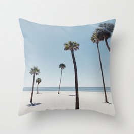 Palm trees 7 Throw Pillow