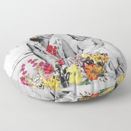 Plantae Wash Out Floor Pillow