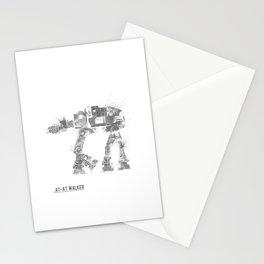 Star Wars Vehicle AT-AT Walker Stationery Cards