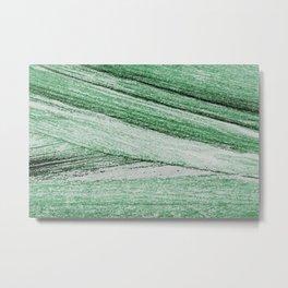 Abstract wood bark watercolor painting #11 Metal Print