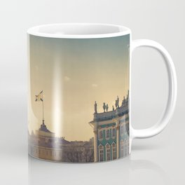 Ballons on Palace Square, St. Petersburg Coffee Mug